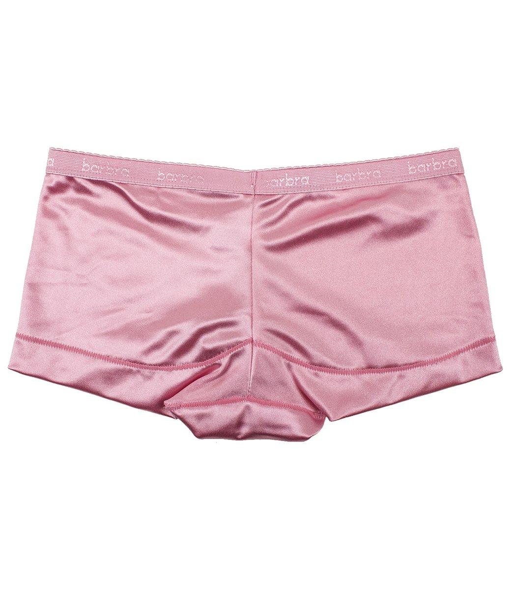 Barbra 6 pack Women's Satin Full Coverage Guaranteed Fit Boyshort Panties(3XL) by Barbra Lingerie (Image #4)