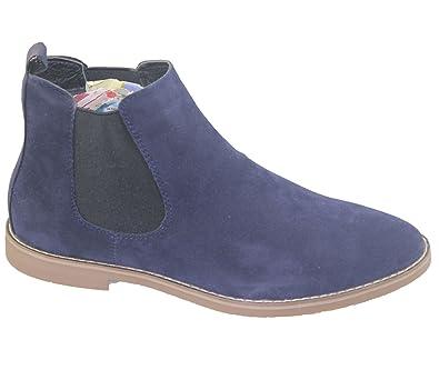 katt brand Mens Chelsea Boots Faux Suede Office Casual Dress Desert Ankle  Shoes  Amazon.co.uk  Shoes   Bags f08a311c687b
