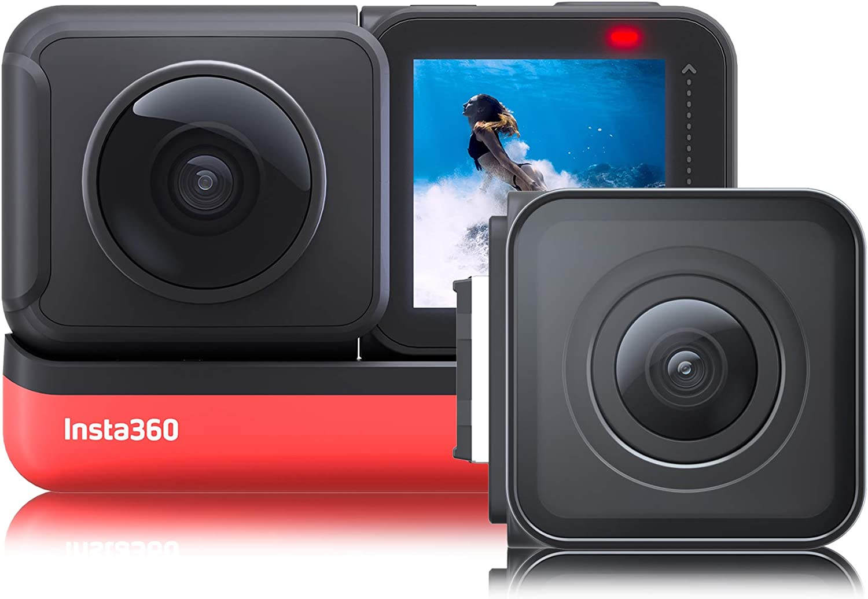 Insta360 One R Twin Edition - Actioncam - Rood/Zwart