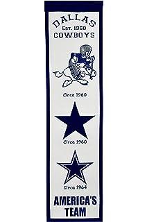 Winning Streak NFL Dallas Cowboys Football for Her Banner