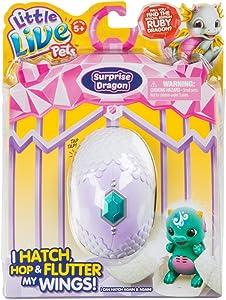 Little Live Pets Surprise Dragon Single Pack Childrens Toy, Blue/Green