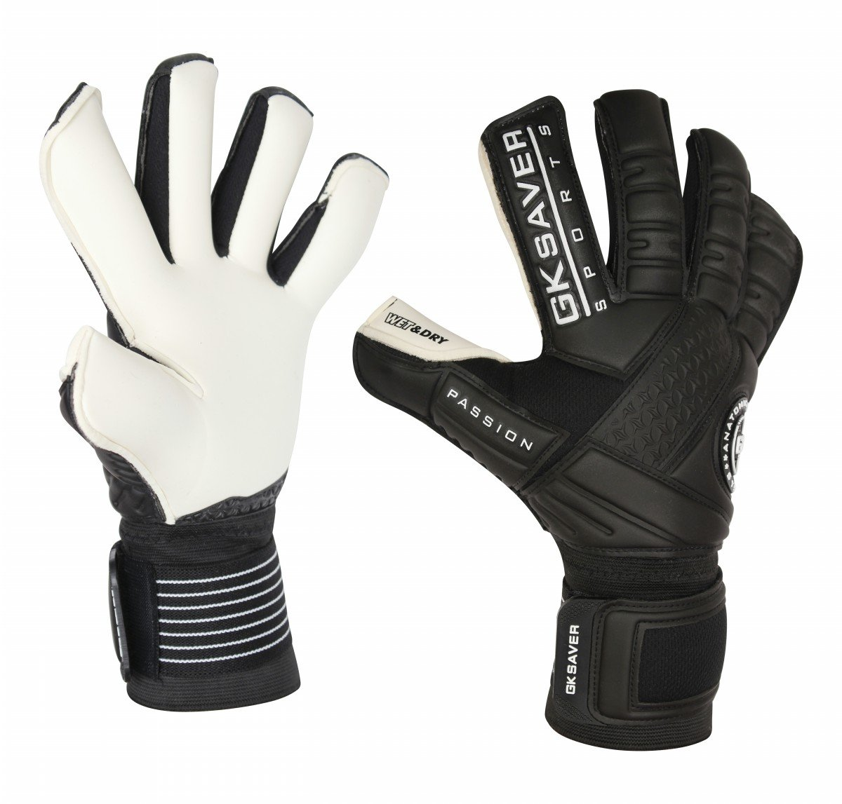 GK Saver Fußball Fußball Torwart Handschuhe Professional Passion PS10 Wet & Dry