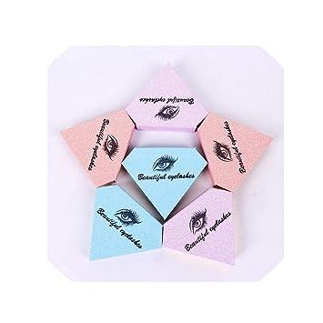 Amazon com : 50Pcs False Eyelashes Packaging Box Fake 3D Mink Lashes