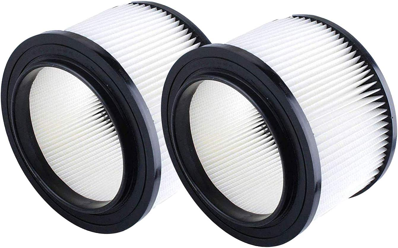 17810 9-17810 Filter Replacement For Craftsman Shop Vac,9-17810 Wet Dry Vacuum Filter Fits 3 & 4 Gallon (2 pack)