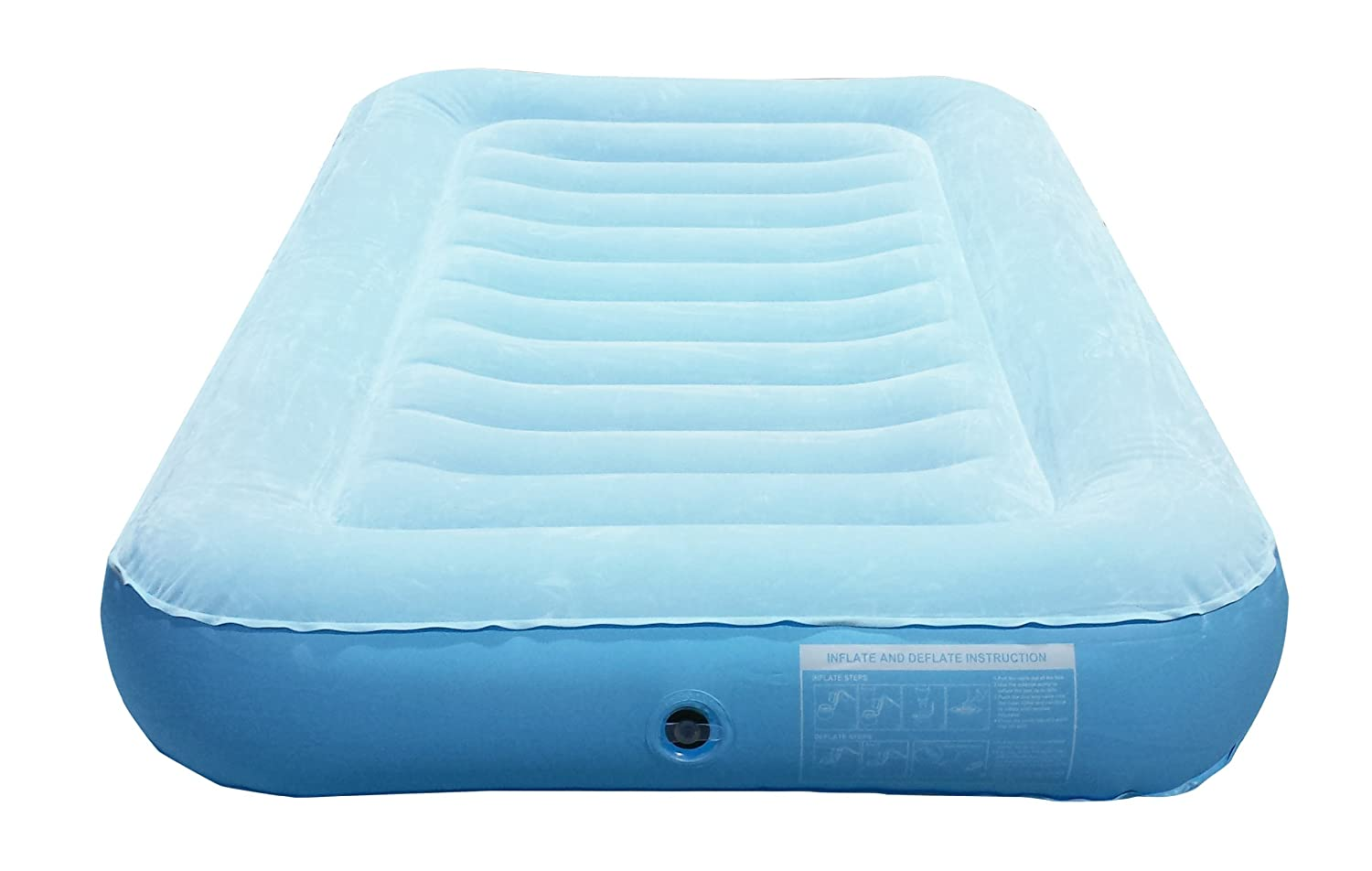 Amazon.com: LazyNap LZ-01K Kids Air Bed with Flock Top for Camping, Nap  Time or Sleepovers (Includes FREE Hand-Held A/C Electric Pump): Sports &  Outdoors