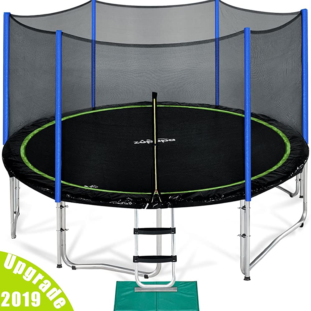 Trampoline for children: both entertains and physically develops 16