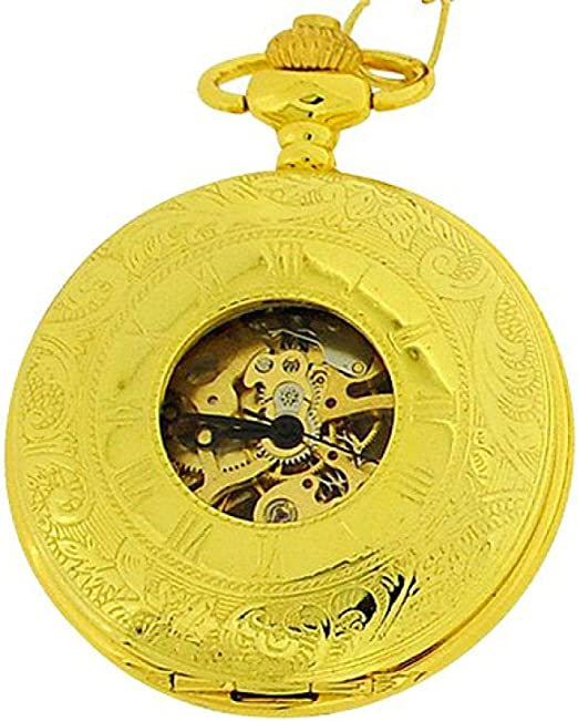 Time Accessories Boxx Wind Up Pocket Watch 12 Watches