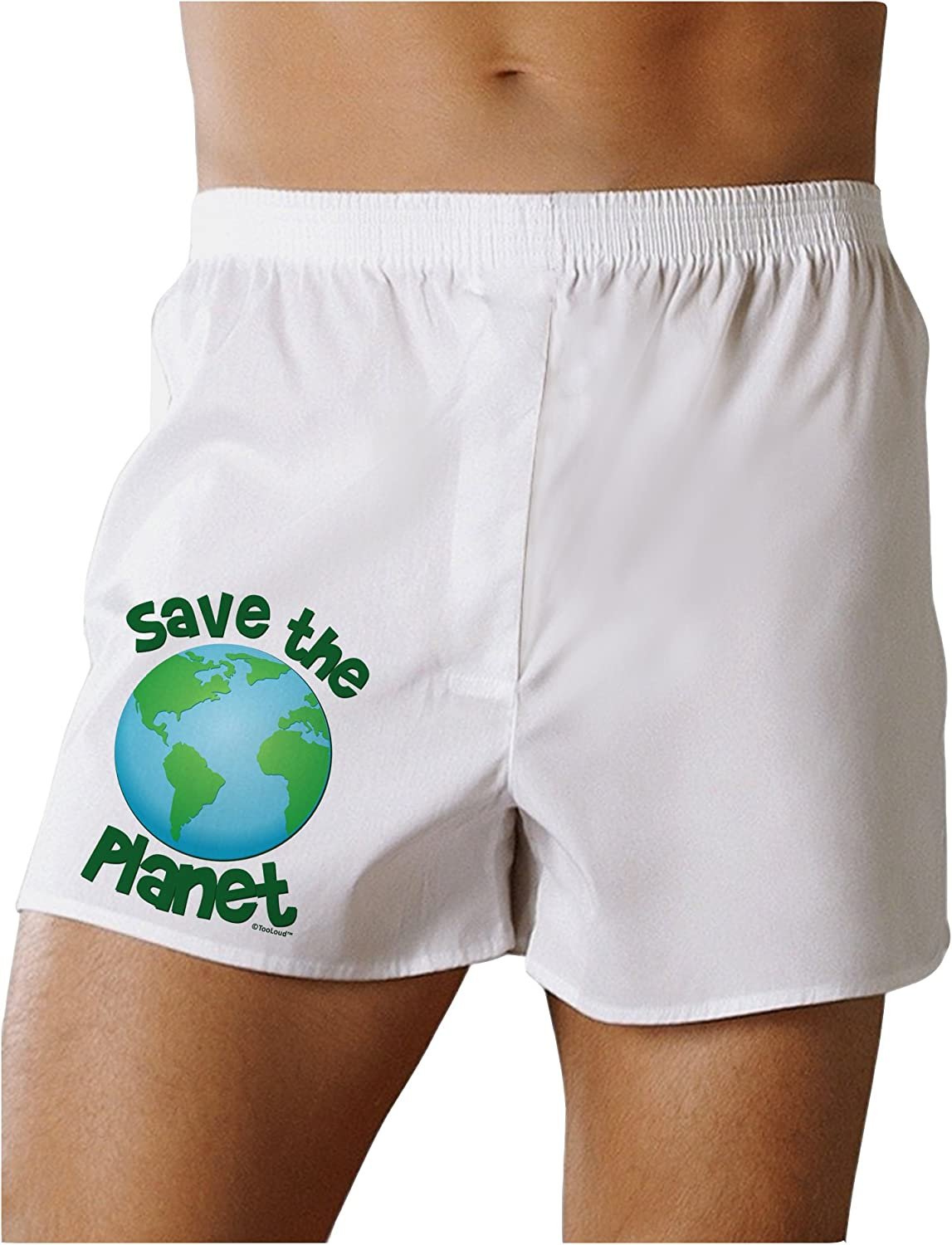 Earth Boxers Shorts TOOLOUD Save The Planet