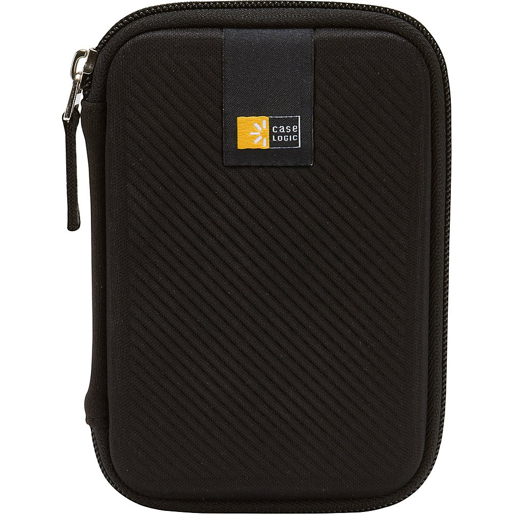 Amazon.com: Case Logic Portable Hard Drive Case, Negro talla ...