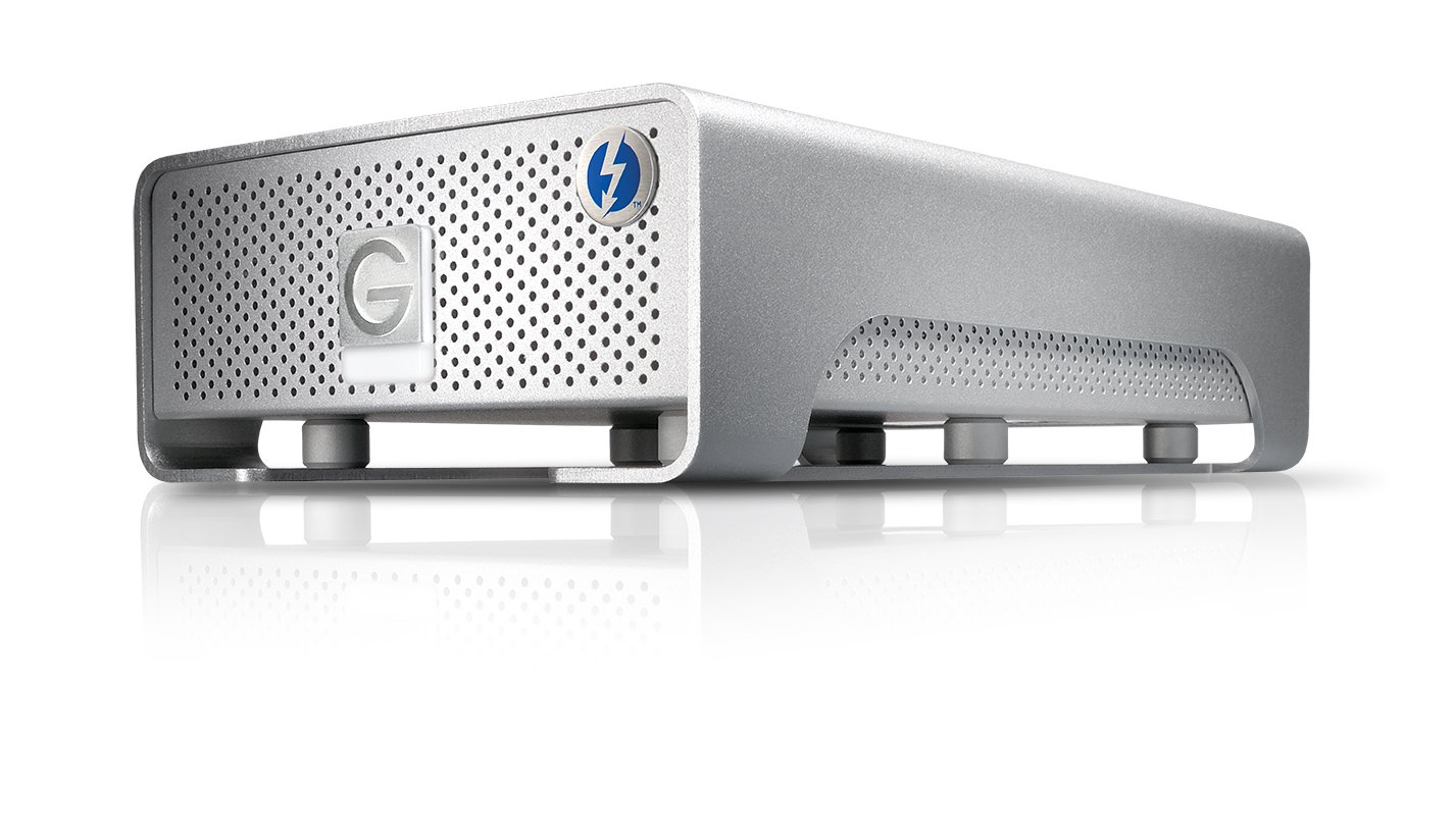 G-Technology G-DRIVE PRO with Thunderbolt High Speed Portable RAID Solution 2TB (0G02828)