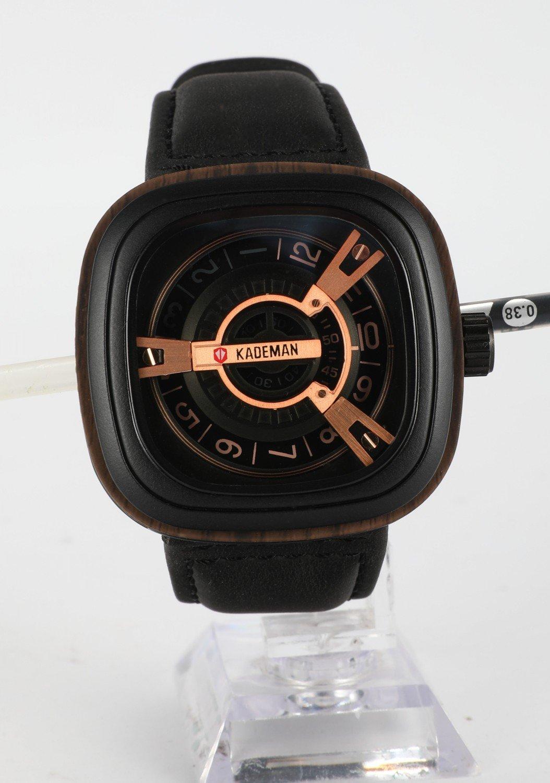 Amazon.com: KADEMAN Mens Business Casual Wrist Watch, Luxury Waterproof Sports Watches (brown): Cell Phones & Accessories