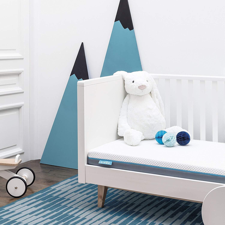 Colchón para cuna Simba Hybrid de 120 x 60 cm | Máxima Transpirabilidad | Protección Antialérgica | Limpieza Fácil: Amazon.es: Bebé