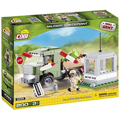 COBI Small Army Military Check Point: Toys & Games