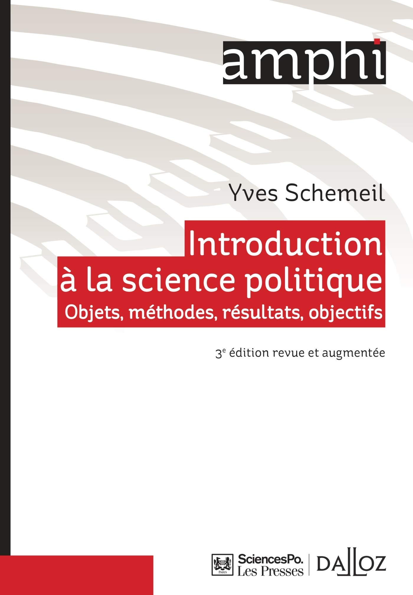 Amazon Fr Introduction A La Science Politique 3e Ed
