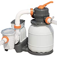 Bestway 58400 - Depuradora de arena (3.785 l/h) - Provista de mangueras compatibles y válvula de seis posiciones…