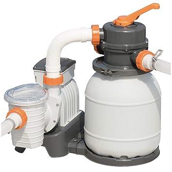 Bestway   Filtre à Sable Pour Piscine Hors Sol Filtration 3785 M3/h Pompe  200