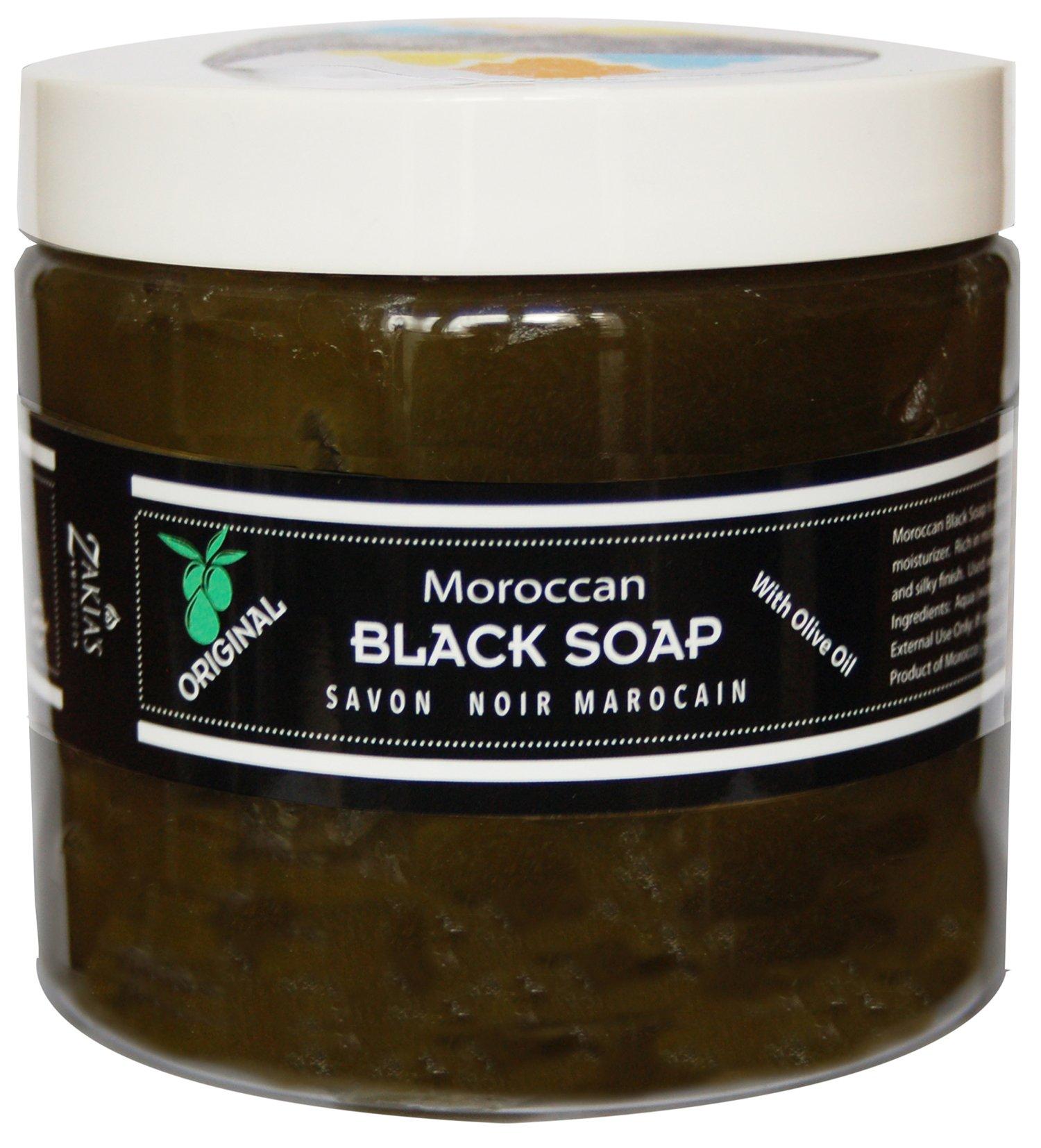 Moroccan Black Soap - Original -16 oz value size