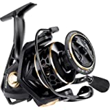 PLUSINNO Fishing Reel, 9 +1BB Spinning Reel, Ultra Smooth Powerful, Lightweight Graphite Frame, CNC Aluminum Spool for Freshw