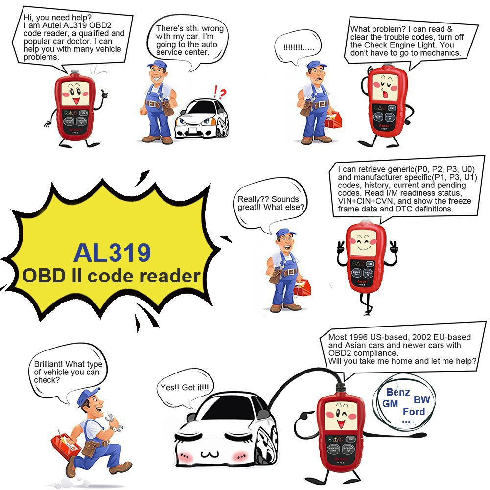 Autel AutoLink AL319: OBD2 & CAN Car Code Reader Review