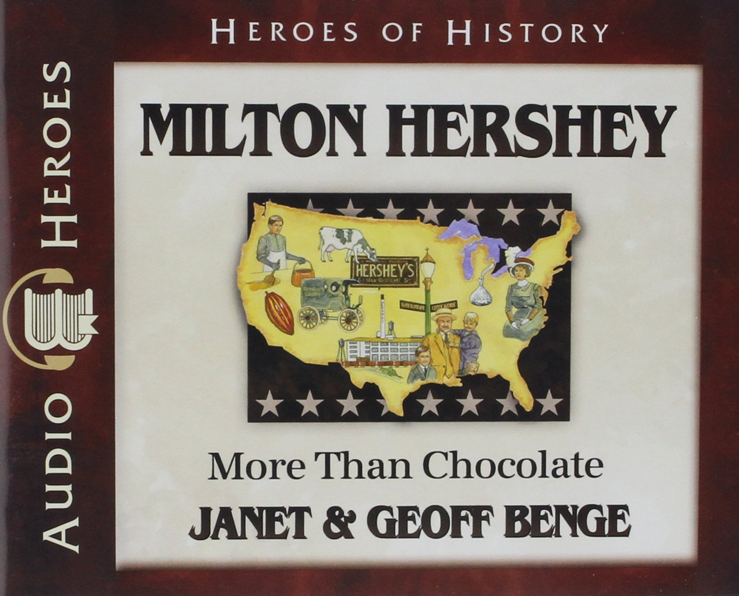 Milton Hershey Audiobook: More Than Chocolate (Heroes of History)