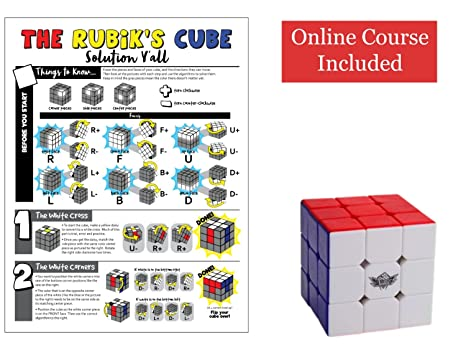 Amazon How To Solve A Rubix Cube For Beginners The Ultimate