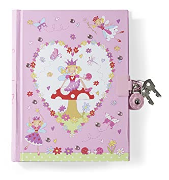 lucy locket diario secreto para nias rosa diseo de hadas con candado
