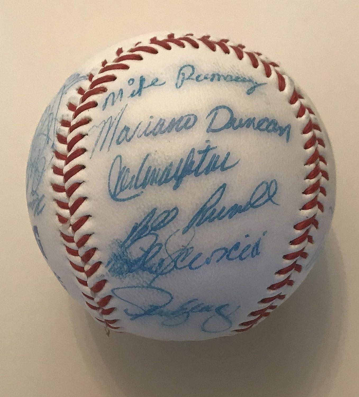 COA Matching Holograms 1984-85 LA Dodgers Team Autographed Los Angeles Dodgers Logo Baseball