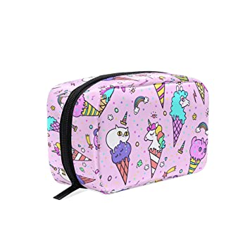 Amazon.com: Bolsas de cosméticos, bolígrafo de unicornio ...