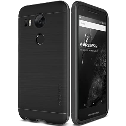 brand new 3e894 8c3ef Nexus 5X Case, Verus [High Pro Shield][Steel Silver] - [Military ...