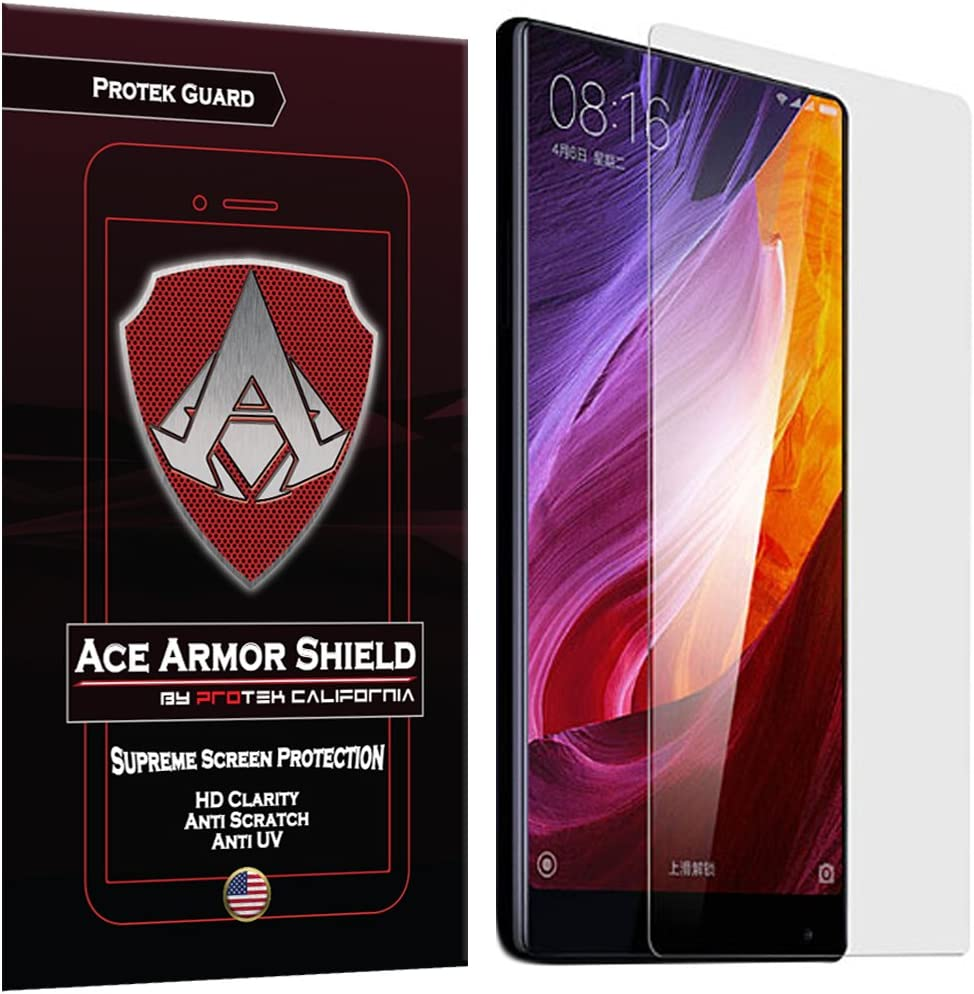Ace Armor Shield Protek Guard Screen Protector for theXiaomi Mi Mix with Free Lifetime Replacement Warranty
