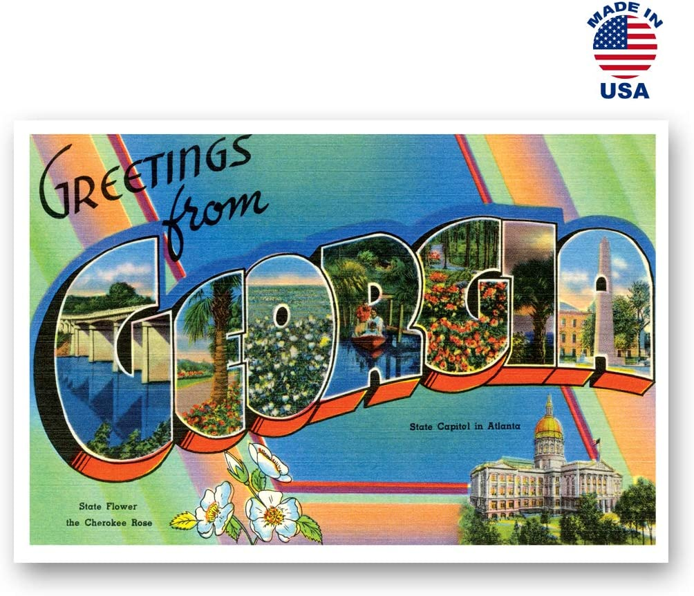 Post cards Made in USA. HELLO postcard set of 20 identical postcards