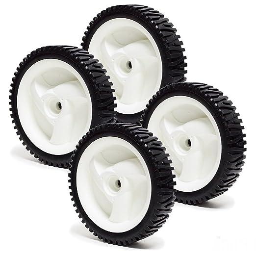 Cirocco 4 paquetes de 8 pulgadas rueda de transmisión delantera ...