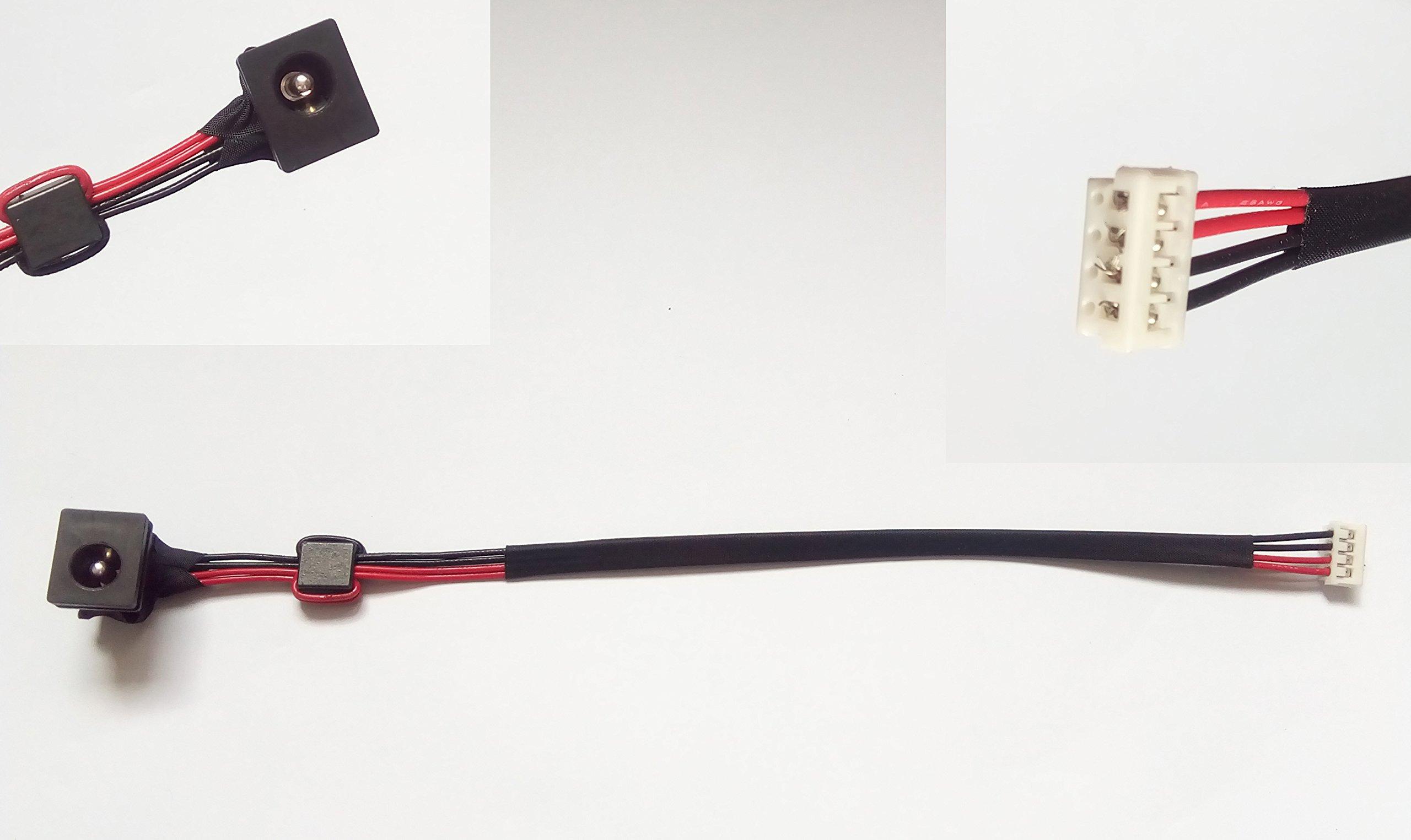 DC-IN Power Jack For Toshiba A105 A135 A205 A210 A215 A300 A305 A500 A505 L300 L305 L350 L355 L455 L505 M115 M205 Series Compatible : 6017B0149801 V000932670