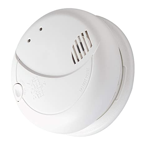 BRK 7010BE Optical Smoke Alarm, Mains Powered with 9 V Battery Backup