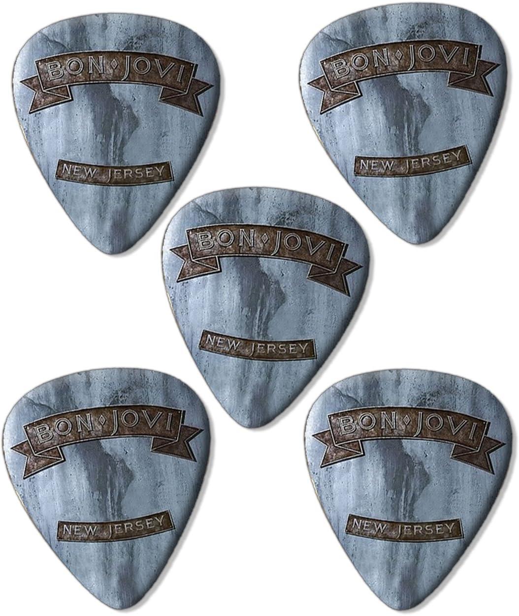 Bon Jovi nueva Jersey Premium Púas para guitarra presentadas x 5 ...