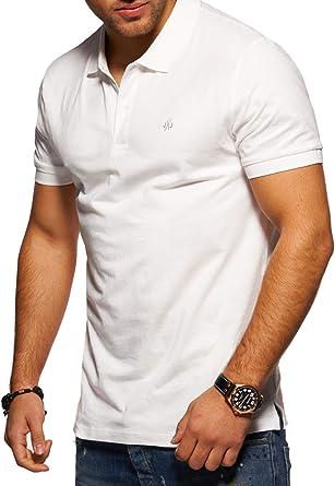 JACK & JONES Polo para Hombre Camiseta Camisa Manga Corta Unicolor ...