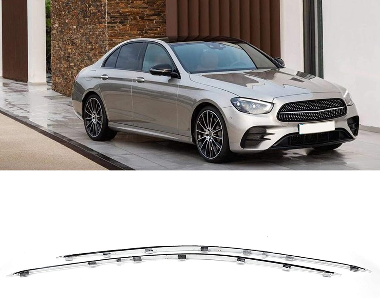 Chrome Front Bumper Trim 2118852321 2118852421 Fit for Mercedes-Benz W211 E-Class E320 E350 E550 E63 AMG