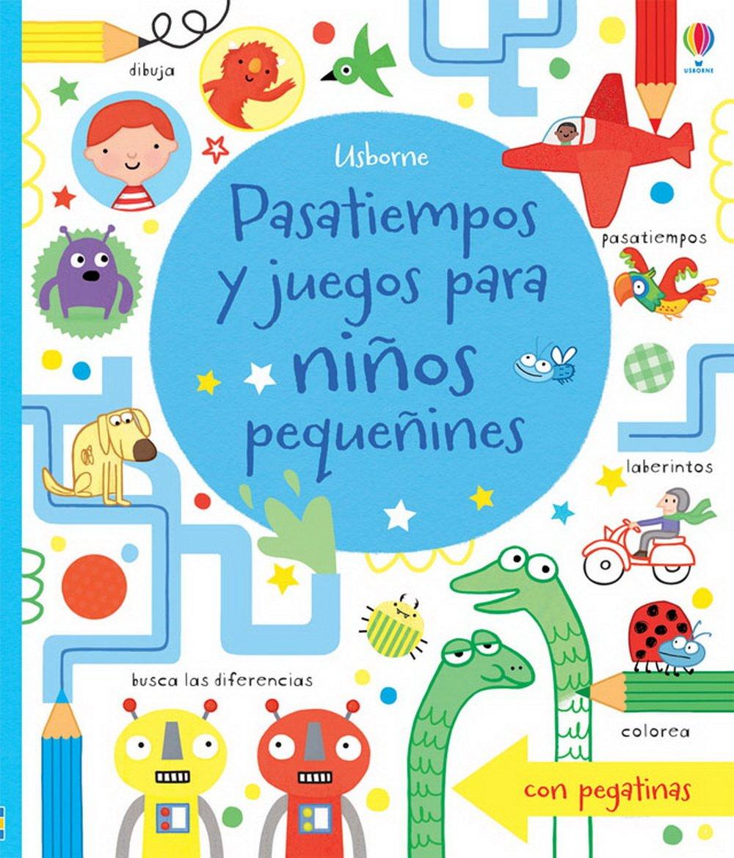 Pasatiempos Y Juegos Para Niños Pequeñines: Amazon.es: Fiona Watt ...