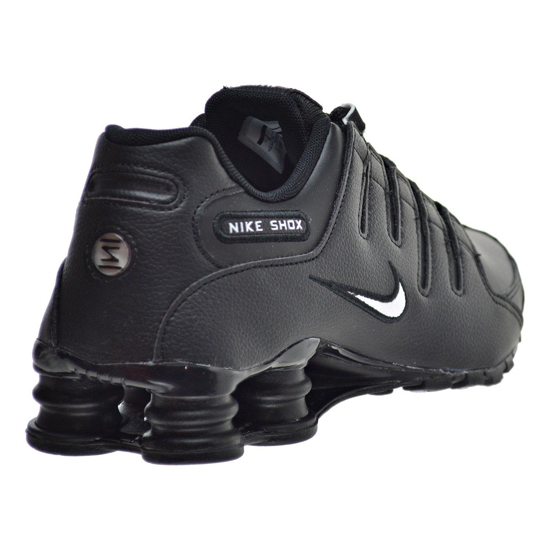 dfc596d6c22 ... greece amazon nike shox nz eu mens shoes black white 501524 091 road  running 03ece 42ae6