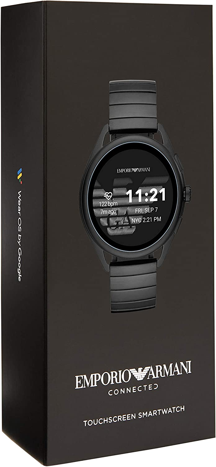 Amazon.com: Emporio Armani Smartwatch 3- Powered with Wear ...