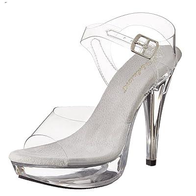 Pleaser Women's Cocktail-508/C/M Platform Sandal | Platforms & Wedges