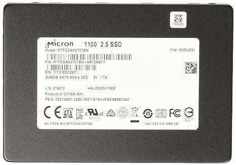 Crucial 1100 2048 GB Serial ATA III 2.5