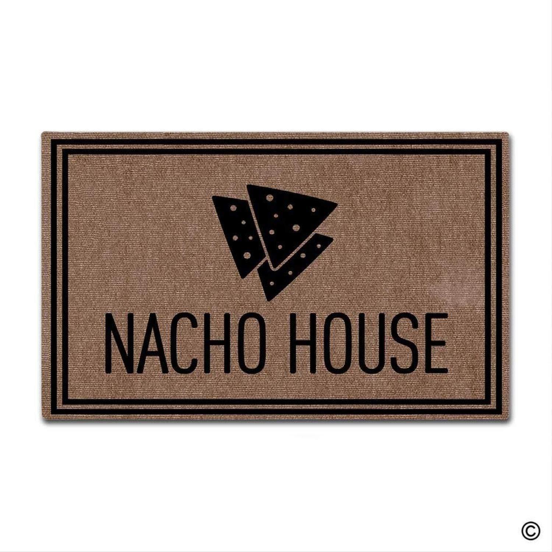 Amazon.com: Bennett11 Nacho House Door Mat Mat Floor Mat Rug ...