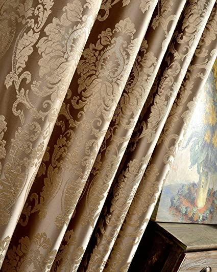 Living Room Window Curtains Blind Drapes Panel Fabric Curtain For Bedroom Luxury