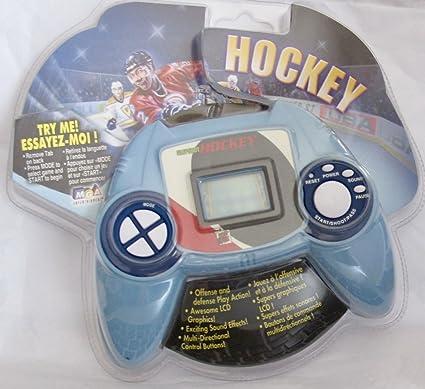 Amazon com: MGA Handheld Electronic HOCKEY Game w Multi-Directional