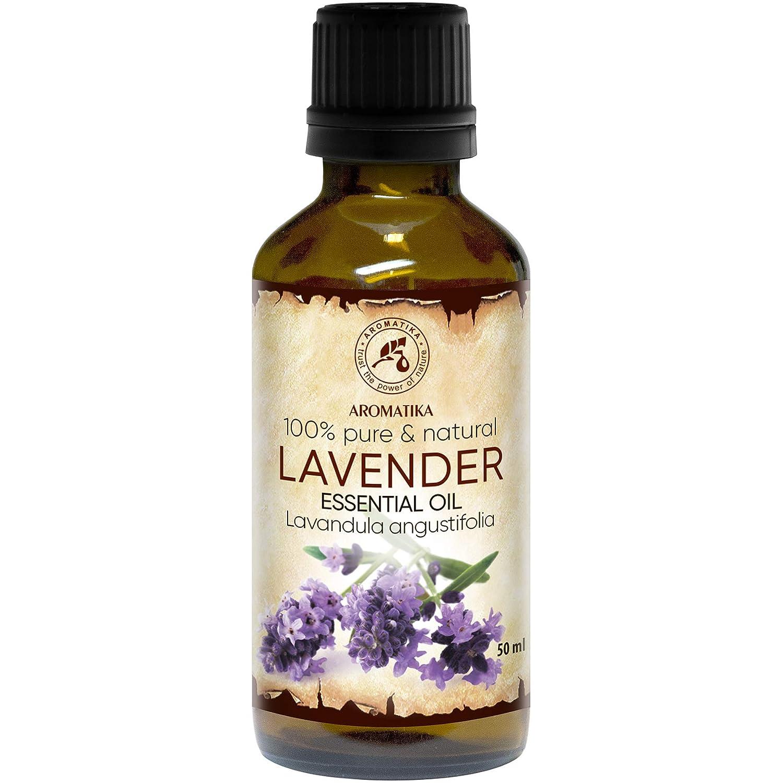 Lavendel Öl 100% Naturreines Ätherisches 10ml - Reine & Natürliche Lavendelöl - Lavandula Angustifolia - Bulgarien - am Besten für Guten Schlaf - Beauty - Wellness - Schönheit - Aromatherapie - Entspannung - Spa - Aroma Diffuser - Duftlampe - Raumbeduf