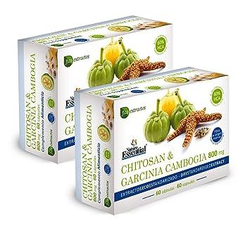 Nature Essential - Chitosán + Garcinia 800 mg 60 cápsulas ...