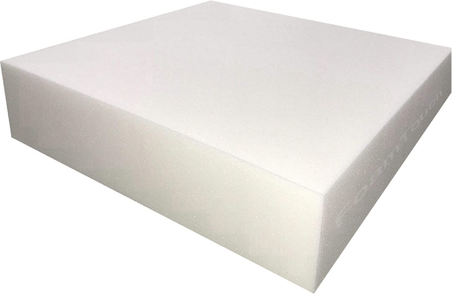 FoamTouch Upholstery Foam Cushion High Density 3 Height x 26 Width x 72 Length Made in USA