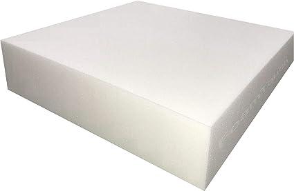 Upholstery Cushion Made in USA GoTo Foam 5 Height x 24 Width x 72 Length 36ILD Semi-Firm