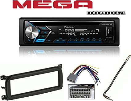 pioneer car stereo radio wiring amazon com pioneer deh s4000bt bluetooth cd car stereo audio  pioneer deh s4000bt bluetooth